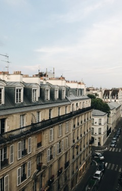 Buildings in Paris
