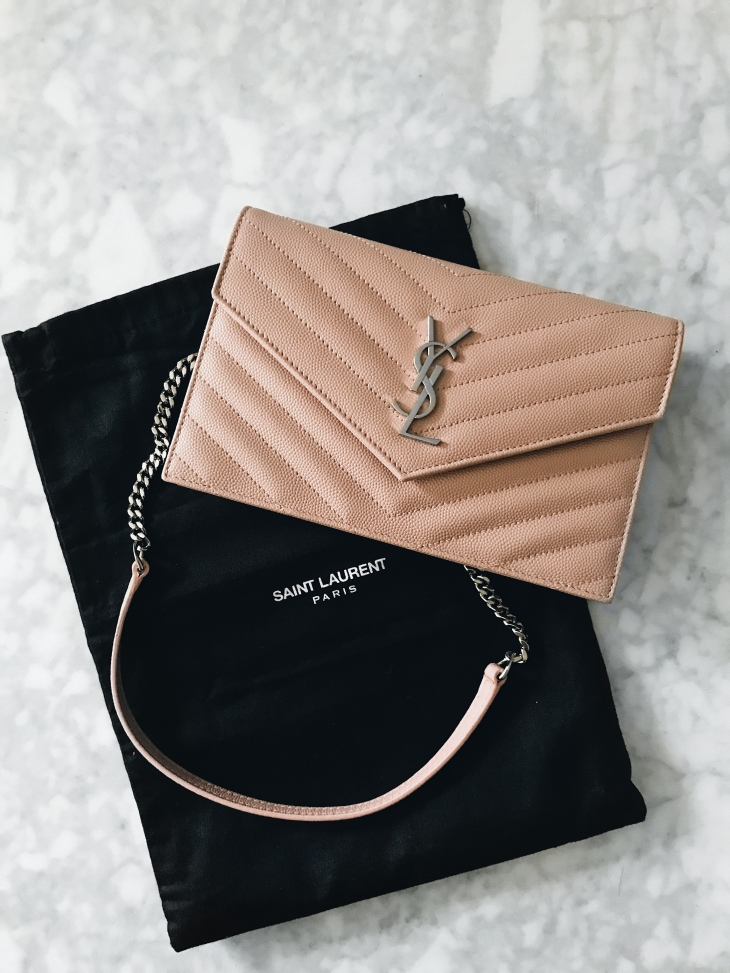 bag review yves saint laurent monogram wallet on chain becca risa