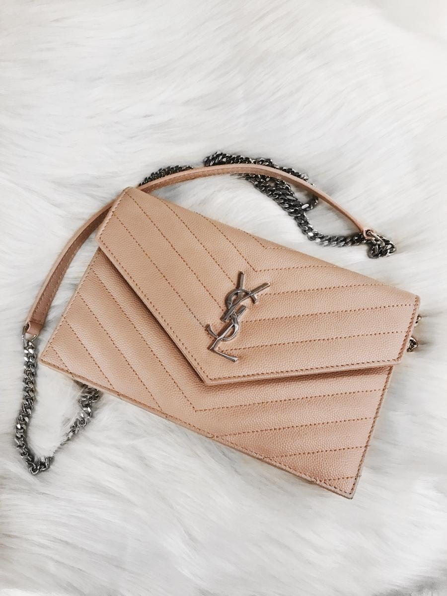 Bag Review: Yves Saint Laurent Monogram Wallet On Chain