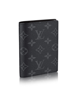Louis Vuitton Monogram Eclipse Passport Cover