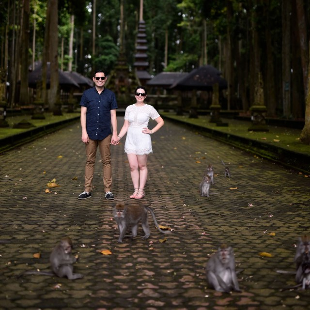 Sangeh Monkey Forest in Bali