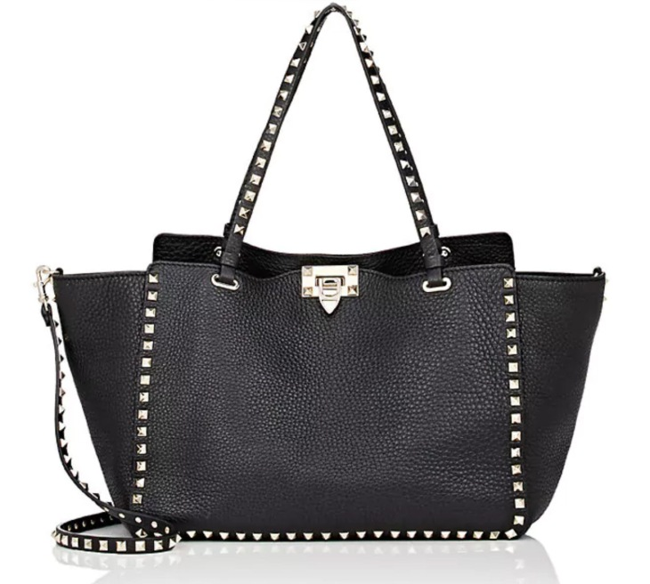 Valentino Black Rockstud Bag