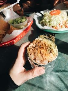 best burrito ever @ Taqueria Vallarta | Capitola