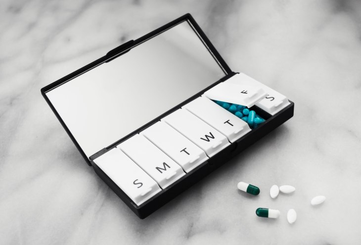Port and Polish 7 Day Pill Organizer and Pillbox  | photo by Becca Risa Luna beccarisaluna.com