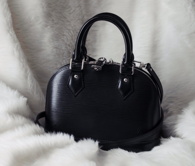 Bag Review  Louis Vuitton Black Epi Alma BB – Becca Risa Luna e6fe72ae1a23c
