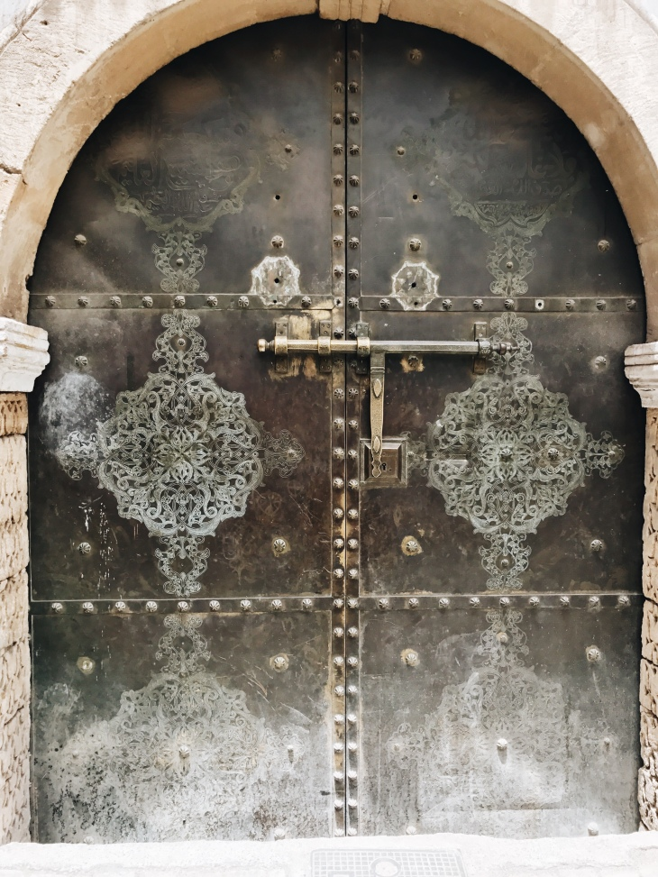 Door in Marrakech, Morocco