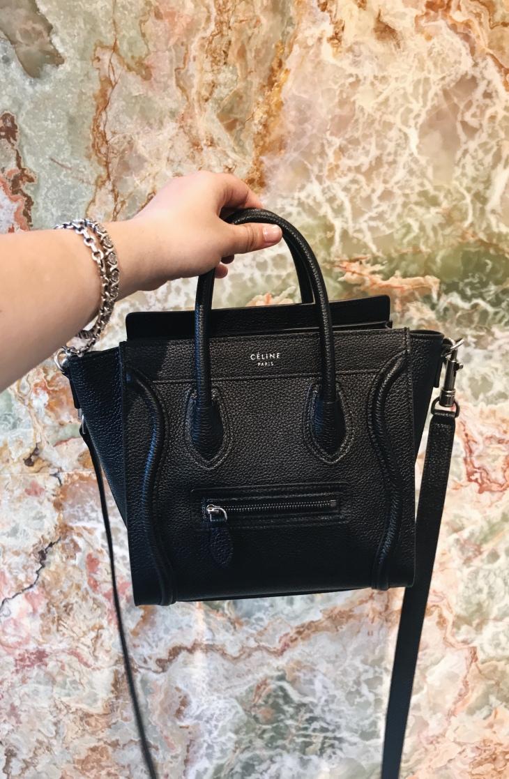 Céline Nano Luggage Bag | BeccaRisaLuna.com