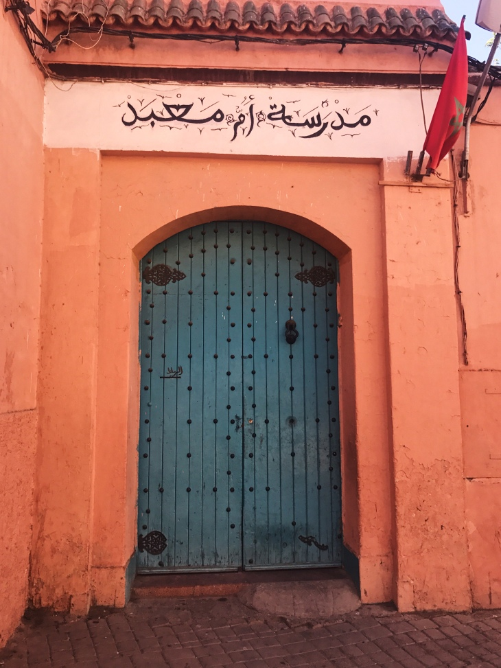 Door in Marrakech