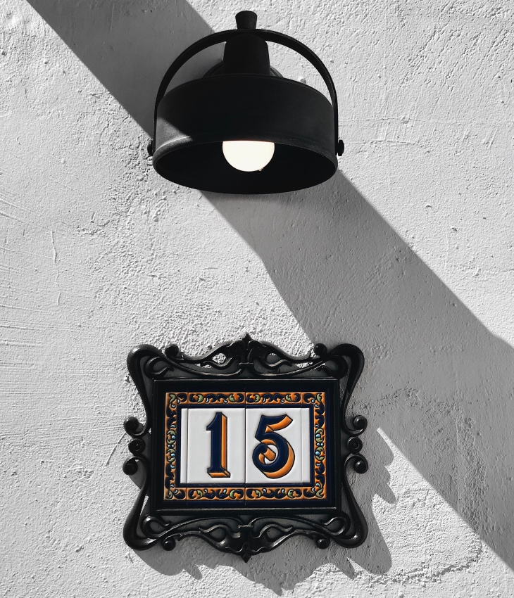 Mexican-style door number 15 at the Ingleside Inn in Palm Springs