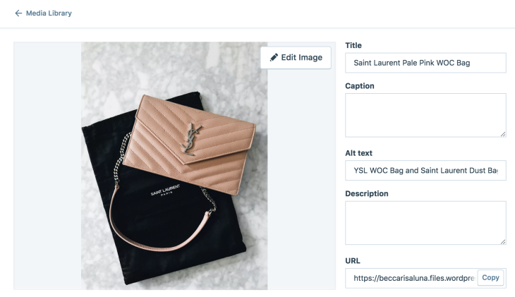 How to add Image Title and Alt Text in WordPress