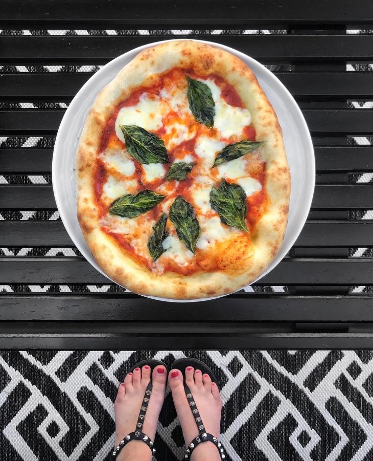 Margherita Pizza At Home Recipe | BeccaRisaLuna.com
