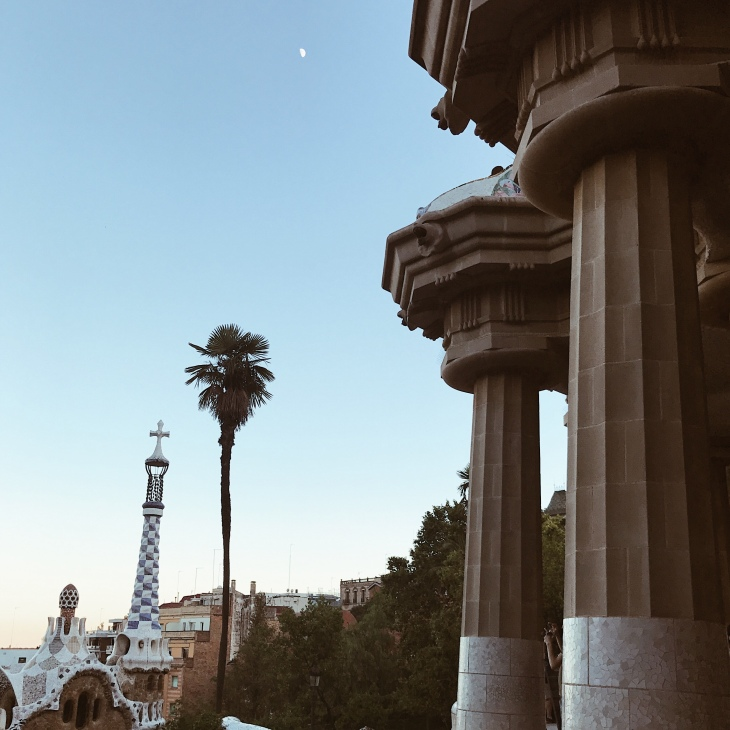 Gaudi's Park Güell in Barcelona