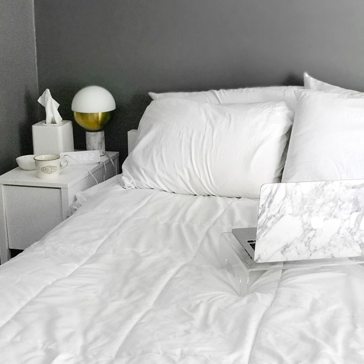 Cozy Minimal Bedroom | BeccaRisaLuna.com