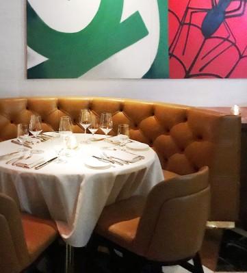 Table at Scotch 80 Prime Las Vegas