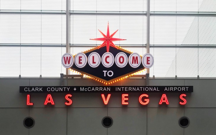 Welcome to Las Vegas McCarran Airport
