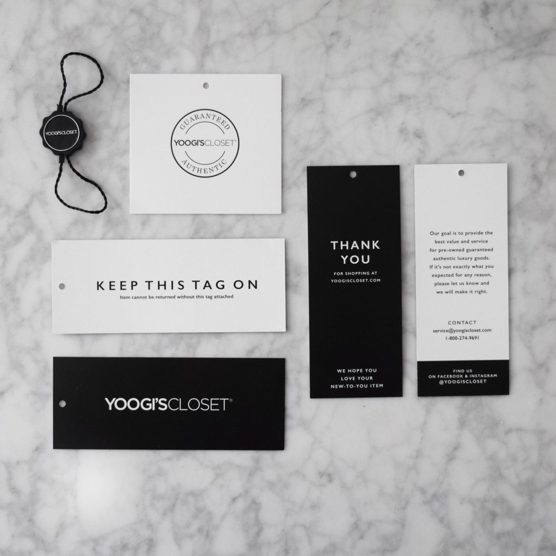 Retail branding design samples